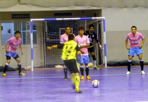 Thailand Futsal League: Andaman Pearl bagged by CAT | Thaiger