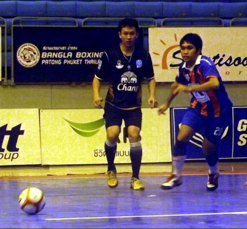 Thailand Futsal: Phuket pearl anchored by Thai Port – VIDEO | Thaiger