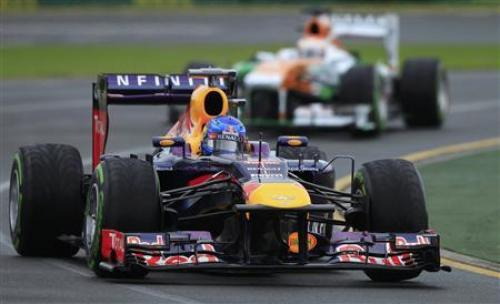 Phuket Gazette Sports: Red Bulls take front row at F1 season opener | The Thaiger