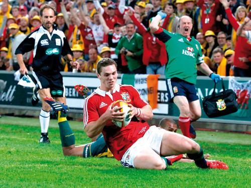 Lions beat Wallabies by a whisker | The Thaiger