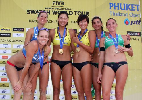 Women's beach volleyball tournament to hit Karon Beach | The Thaiger