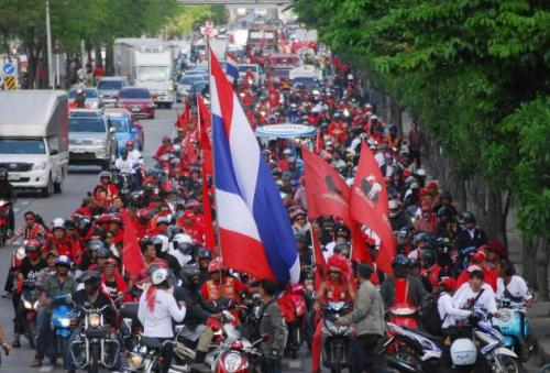 Phuket Gazette Thailand News: Red shirts call off protest, but the poor stay; Exam cheat teachers to be charged; Plan to close 14,000 schools   The Thaiger