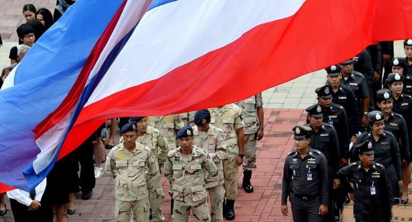 Thailand unfurls National Flag Day | The Thaiger