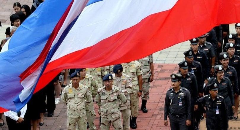 Thailand unfurls National Flag Day | The Thaiger