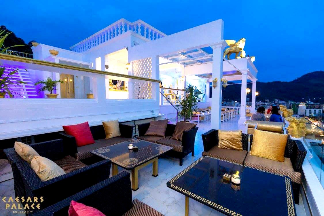 Hail Caesars Palace. Dining in Rococo style overlooking Patong. | The Thaiger