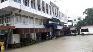Wet feet at Patong Police Station again - Photo essay | News by Thaiger