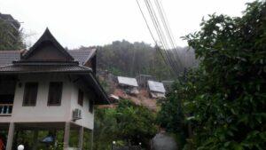 Landslide in Kamala destroys new villa construction | News by Thaiger