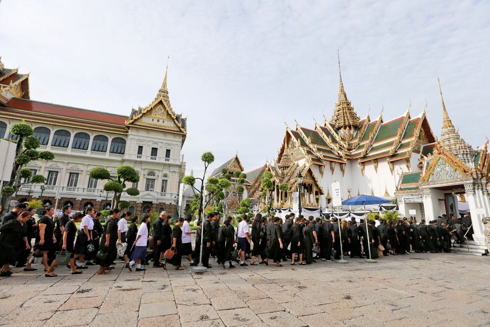 250,000 expected to attend the Royal Cremation next month | The Thaiger