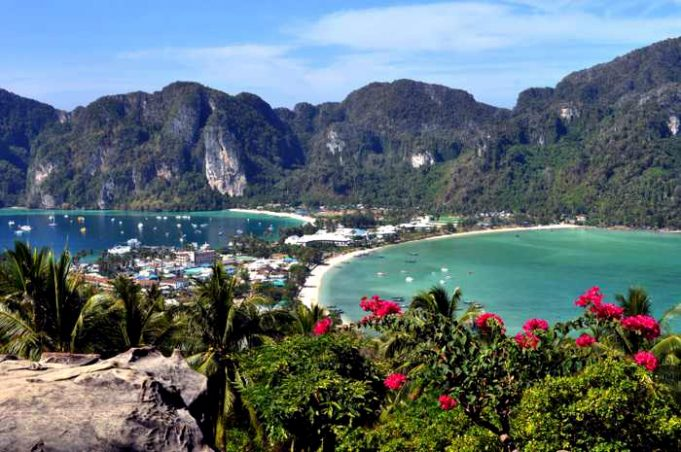 koh phi phi   thailand s most profitable national park