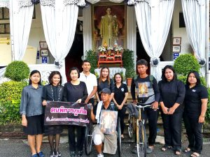 Phuket father and son set off on a special journey for a special King | News by Thaiger