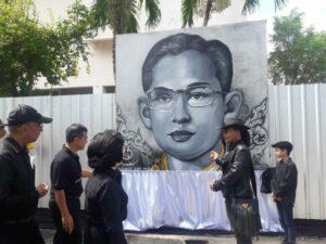 HM King Bhumibol's art exhibition at Saphan Hin | News by Thaiger