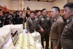 Half a tonne of crystal methamphetamine seized - street value 1 Billion Baht | News by Thaiger