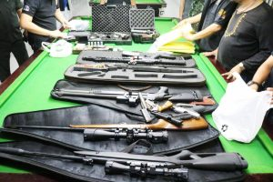 Guns, loan contracts seized in Phang Nga raid | News by Thaiger