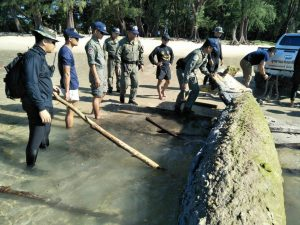 Minesweeper relic taken to Phang Nga | News by Thaiger