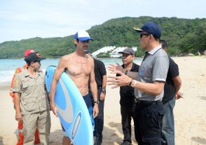Phew, that's the first day done - new lifeguard regime | News by Thaiger