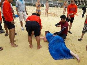Russian tourists in trouble swimming off Karon Beach   News by Thaiger