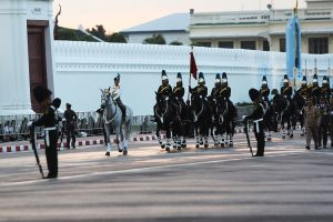 Late King's granddaughter at final dress rehearsal | News by Thaiger