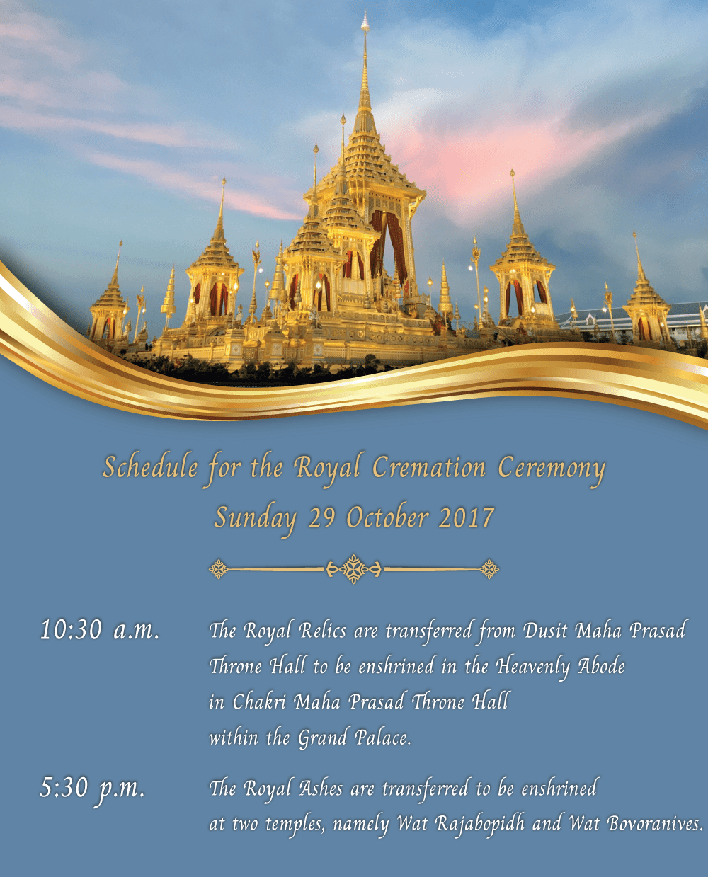 LIVE stream from Bangkok for today's ceremonies | The Thaiger