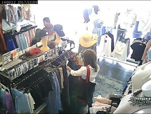 Clothes thieves caught on shop CCTV - Expo | News by Thaiger