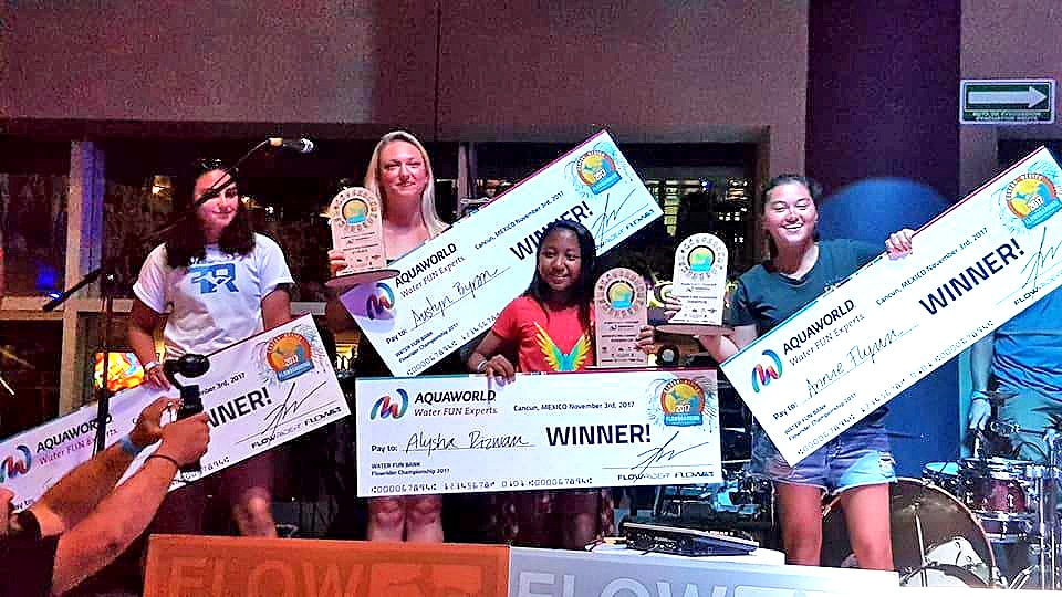 Phuket's Annissa Flynn wins Flowboard Worlds in Cancun, Mexico | The Thaiger