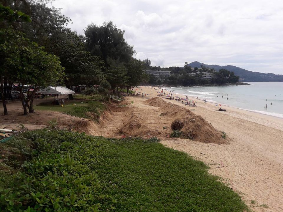 Dr Thon urges authorities to scrap the Surin Beach retention wall | The Thaiger