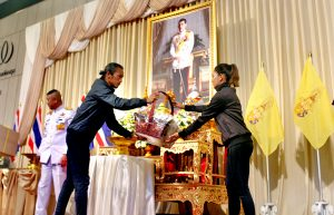 His Majesty grants flowers, energy drinks, traditional Thai sweets to 'Toon' | News by Thaiger