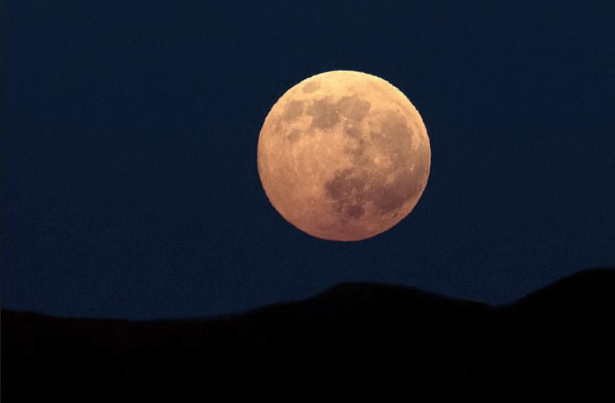 The only supermoon of the year will appear this weekend