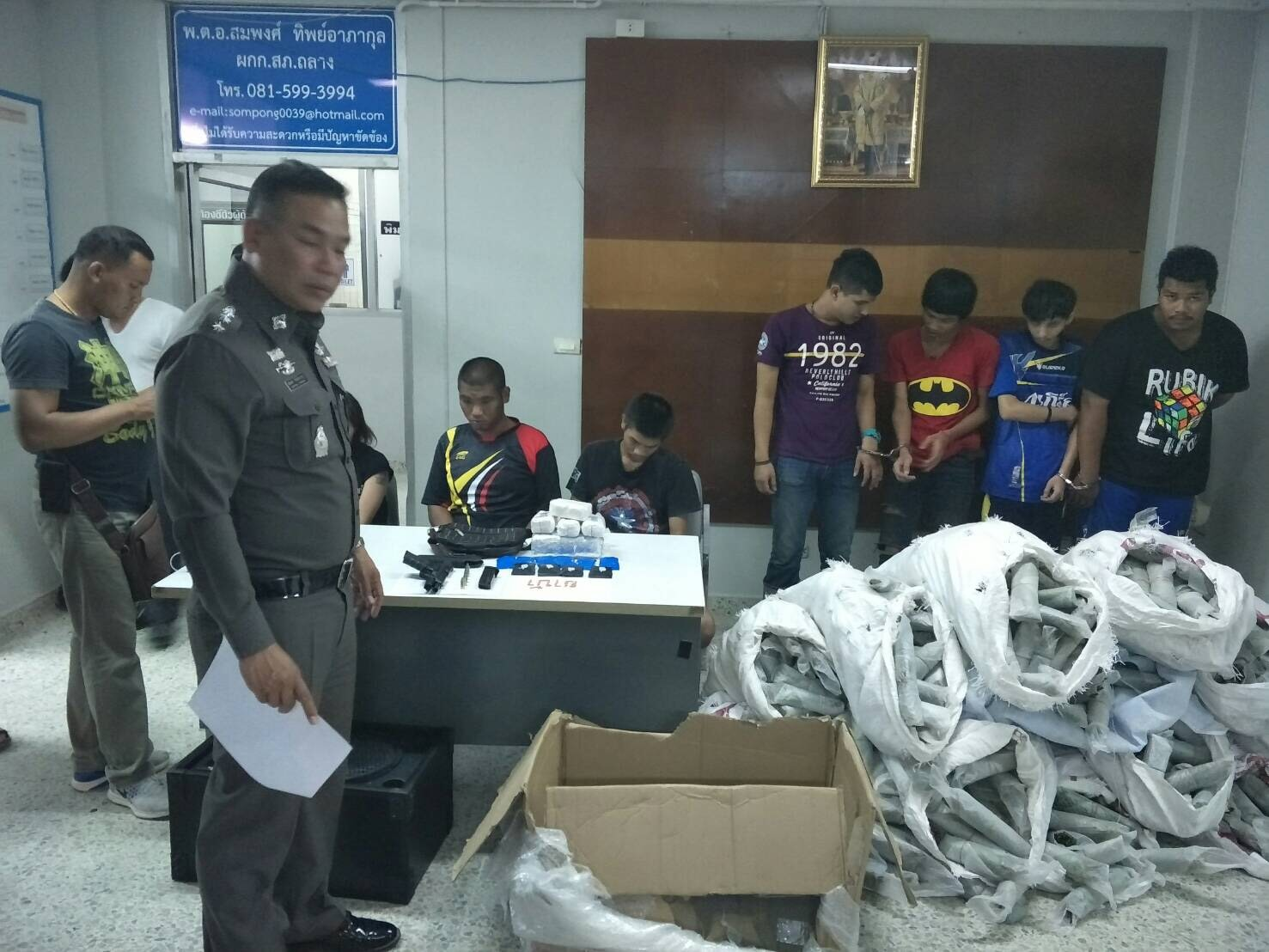 Thalang Police uncover 400+ kilos of drugs | The Thaiger