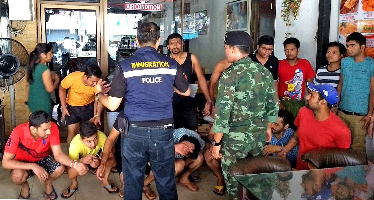 Government crackdown uncovers 100,000 illegal immigrants | Thaiger