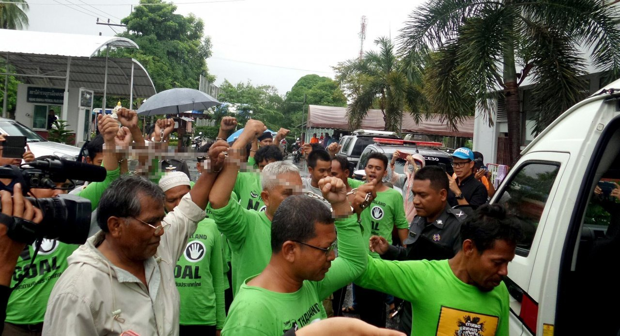 Charges levelled against 16 anti-power plant activists in Songkhla protest | The Thaiger