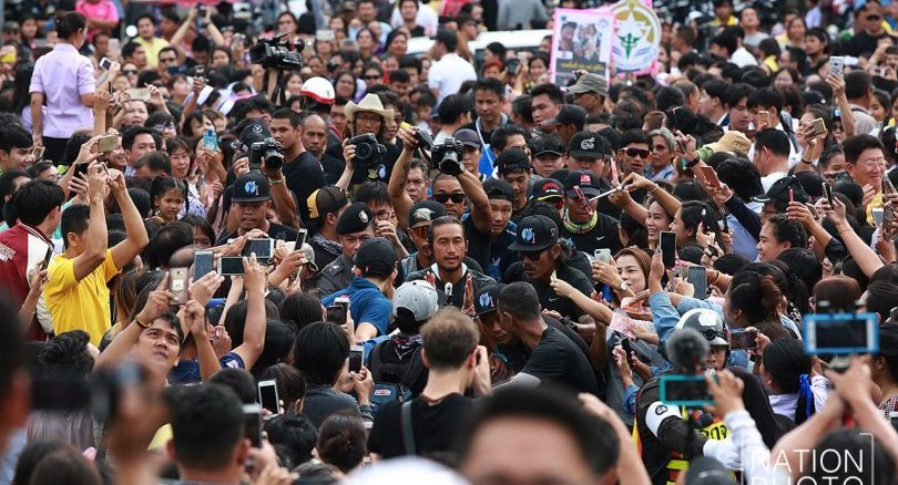 Toon-fever hits Prachuap Khiri Khan today | The Thaiger