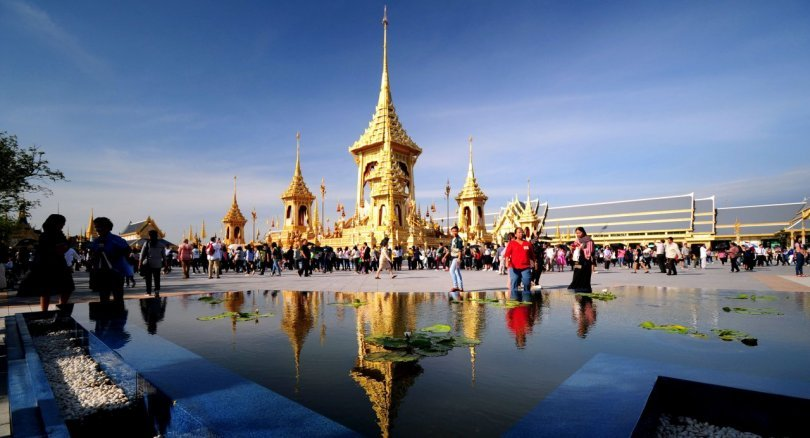 Royal Crematorium exhibit exceeds 3.89 million visitors | The Thaiger