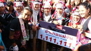 Toon crosses the finish line, exceeding the fund-raising targets and becoming a national hero | News by Thaiger