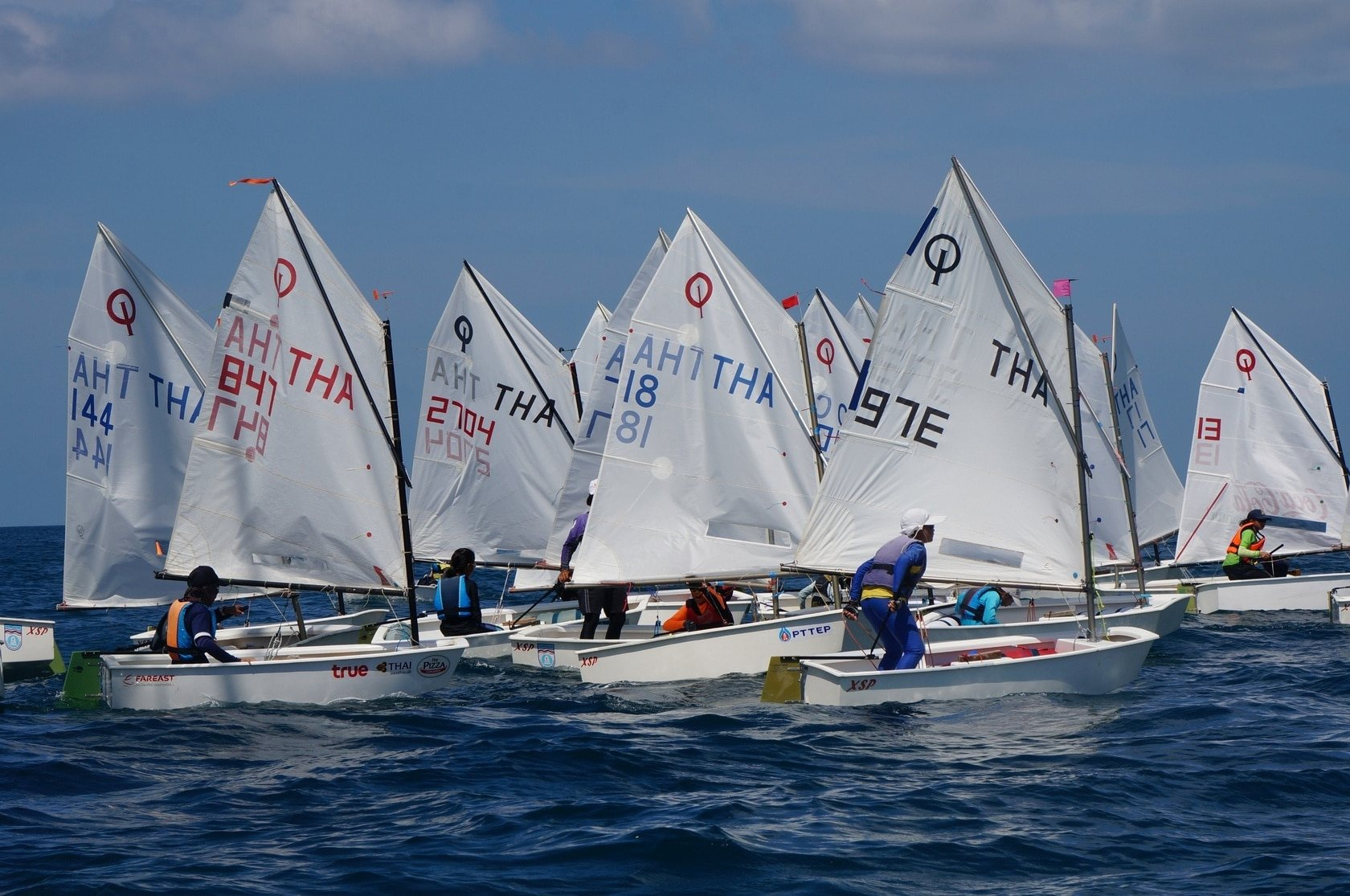 DAY FOUR – Phuket King's Cup. Wind softens but competition heats up. | The Thaiger