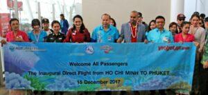 Vietjet kicks offs new direct route, Phuket - Ho Chi Minh City | News by Thaiger
