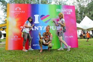 Thanyapura's Colour Fun Run Lights Up 2017's Phukethon | News by Thaiger