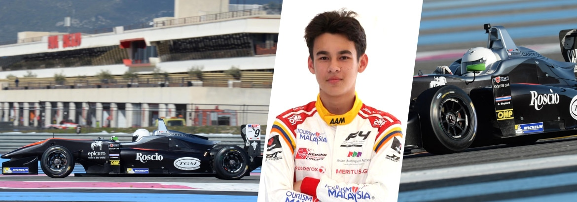 16 year old Thai taking aim at an F1 career | The Thaiger