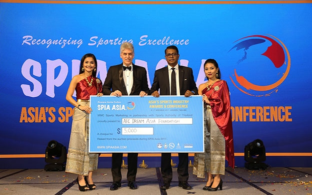 SPIA Asia raise $5,000 for Thai CSR project by AFC Dream Asia Foundation | The Thaiger