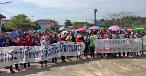 Krabi supporters of the coal power plant voice their support | News by Thaiger