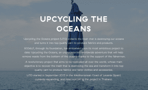 """It's time for """"Upcycling the Oceans"""" 