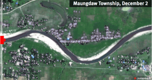 Satellite imagery shows new destruction in Rakhine State | News by Thaiger