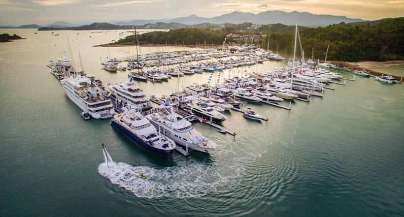 Thailand Yacht Show. Returns to Ao Po Grand Marina February 22 – 25, 2018 | The Thaiger