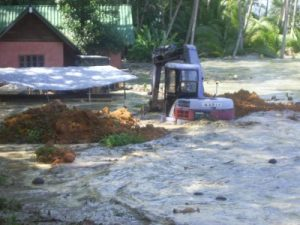How was the tsunami reported on the island 13 years ago? | News by Thaiger