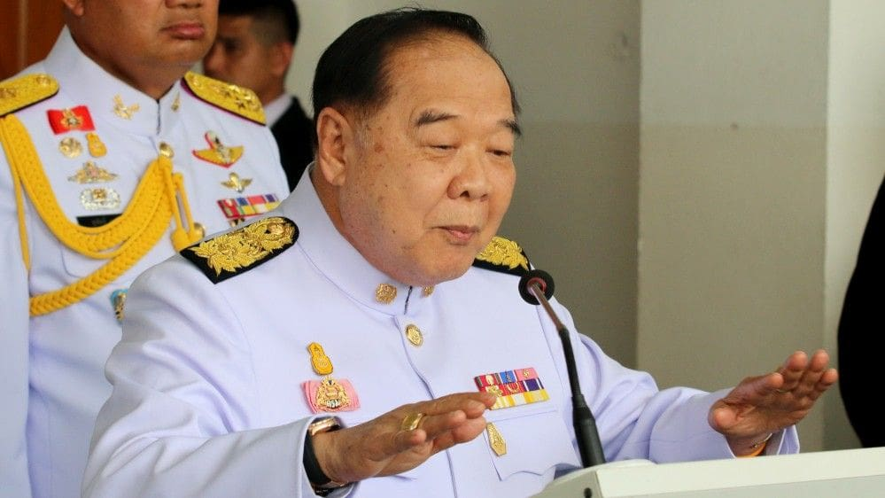 Prawit's watches. They are from a 'third party'. | The Thaiger