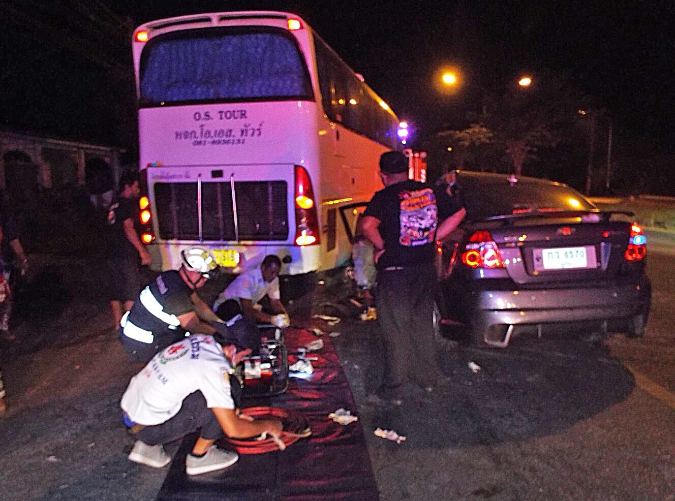 Thalang car crash kills two, including a one year old baby   The Thaiger