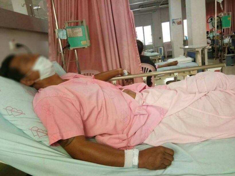 มอบตัวแล้ว 4 ราย กลุ่มวัยรุ่นทำร้ายชาวบ้านบาดเจ็บสาหัส ตร.วิชิต คุมตัวดำเนินคดี | News by The Thaiger