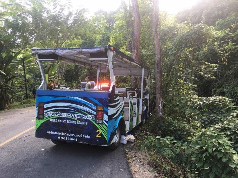Ten injured in buggy crash in Hanuman World, Kathu | Thaiger