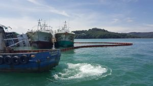 Threatened oil spill off Phuket's east coast   News by Thaiger