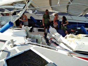 UPDATE: Boat collision off at entrance to Royal Phuket Marina channel   News by Thaiger