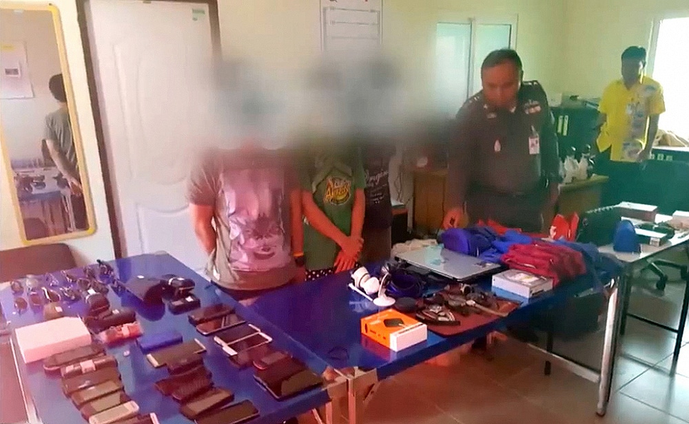 Baggage handlers arrested over thefts at Phuket airport   The Thaiger